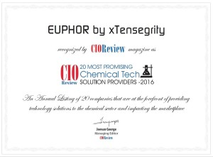 EUPHOR Top 20 certificate